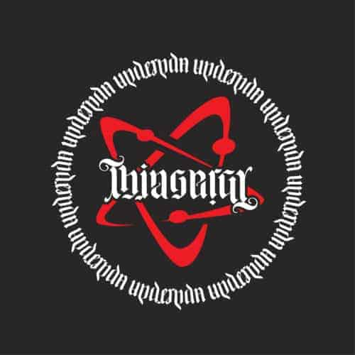 Thingergy Ambigram T-shirt Design
